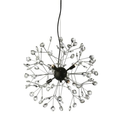Galaviz 6-Light LED Sputnik Chandelier
