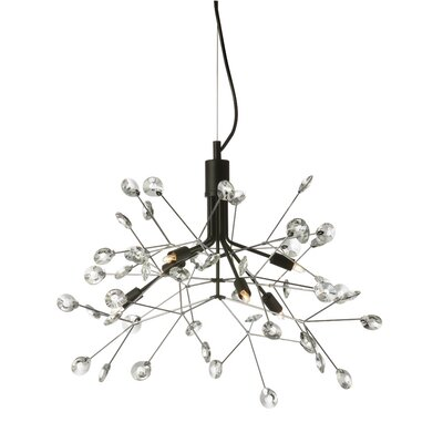 Galaviz 6-Light Sputnik Chandelier