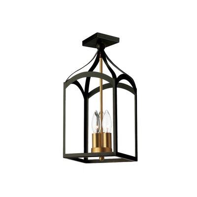 Evelina 3-Light Semi Flush Mount