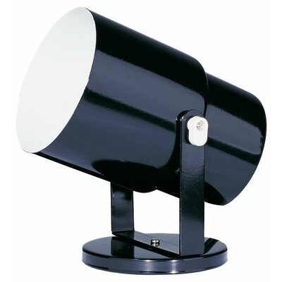 Spot Pod 1-Light Wall Spotlight Finish: Black