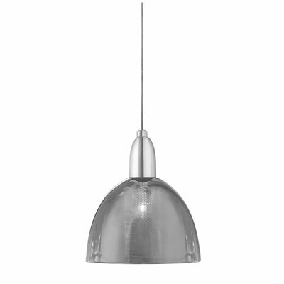 Lucien 1-Light Pendant Shade Color: Mirrored Glass
