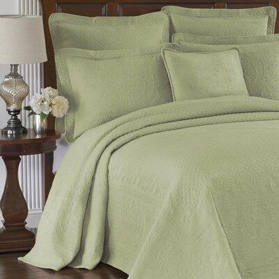 Charles Matelasse Bedspread Size: Queen