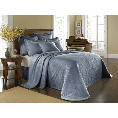 King Charles Matelasse Bedspread Bedding Collection in Powder Blue