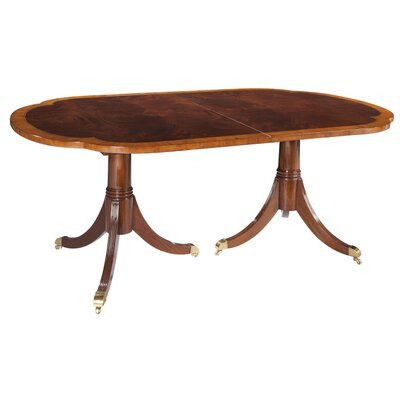 Copley Place Pedestal Extendable Dining Table