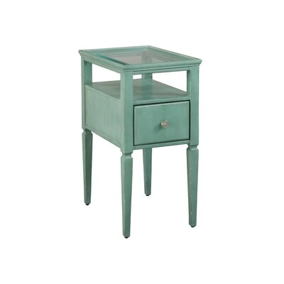 End Table Finish: Seafoam Green