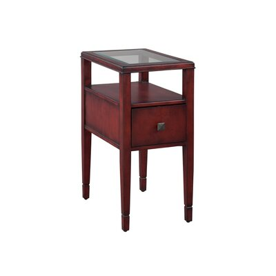 End Table Finish: Dark Red