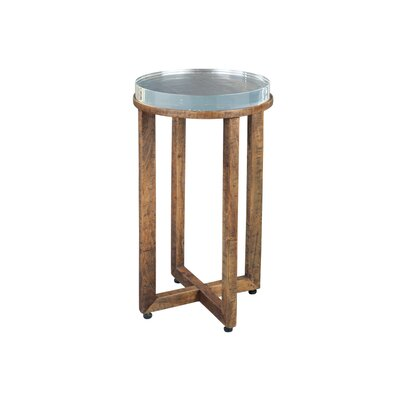 Acrylic Top End Table