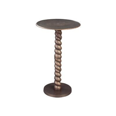 Rope Twist End Table