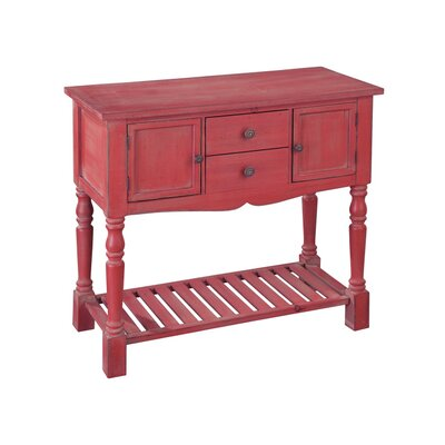 Lowboy Console Table