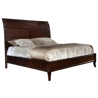 Central Park Queen Sleigh Bed with Mattress