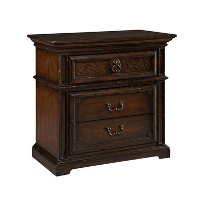 Canyon Retreat 3 Drawer Nightstand