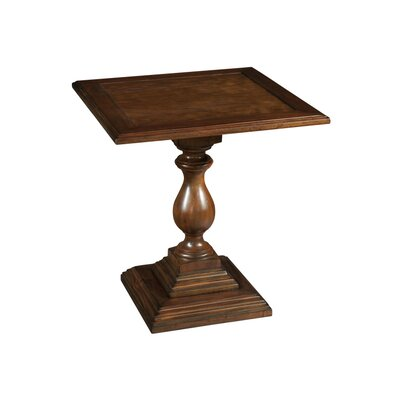 Vintage European Pedestal End Table
