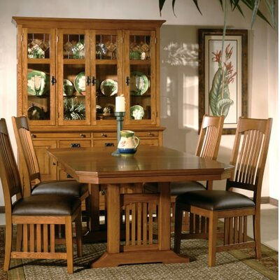 Mission Pointe Trestle Dining Table