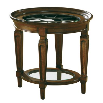 Image of Accents Metal Grille End Table
