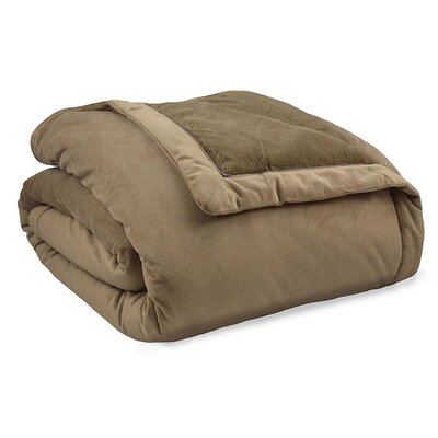 Stratton Thinsulate Throw Blanket Size: King, Color: Taupe