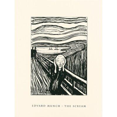 The Scream Serigraph by Edvard Munch Painting Print M697pf
