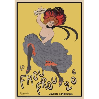 "'Le Frou Frou 20', Journal Humoristique' Vintage Advertisement Print, Poster Size: 42"" H x 30"" W x 0.125"" D C3132-6P"