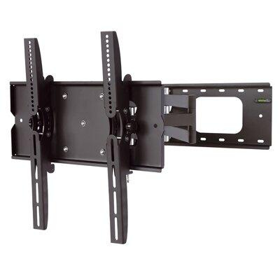Full Motion Wall Mount For 32-60 Plasma Tv In Black