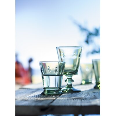 Apiary Goblet Color: Green Tinted