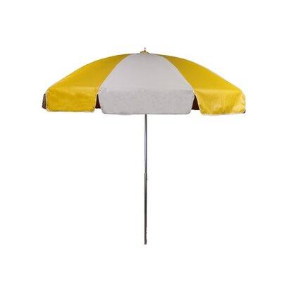 7.5 Drape Umbrella Fabric: Yellow and White