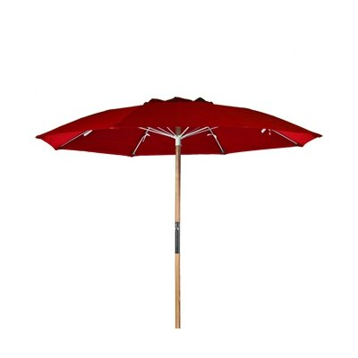 7.5 Beach Umbrella Fabric: Burgundy Acrylic