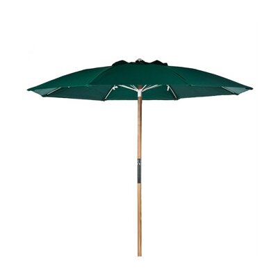 7.5 Beach Umbrella Fabric: Forest Green Acrylic