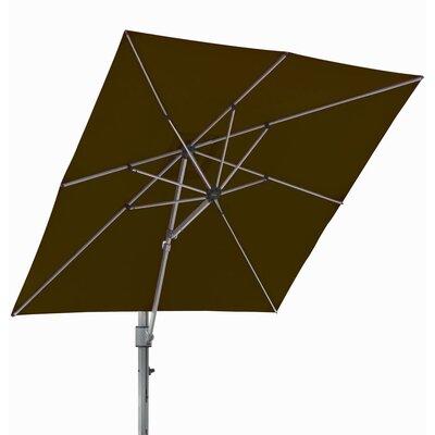 10 Square Cantilever Umbrella Color: Brown