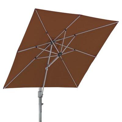 10 Square Cantilever Umbrella Color: Terra Cotta