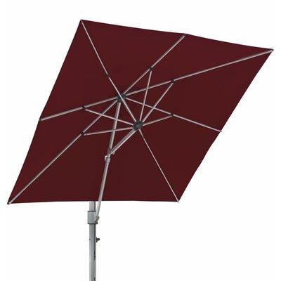 10 Square Cantilever Umbrella Color: Burgundy