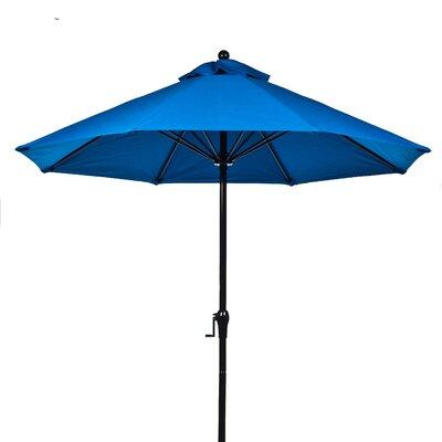 9' Market Umbrella 854FMC-BK-BKA