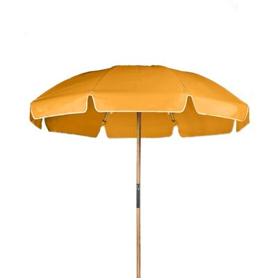 7.5 Drape Umbrella Fabric: Orange Acrylic