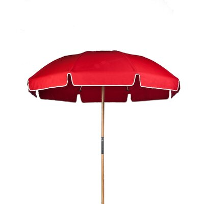 7.5 Drape Umbrella Fabric: Logo Red Acrylic