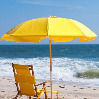 7.5 Drape Umbrella Fabric: Yellow Acrylic