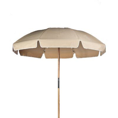 7.5 Drape Umbrella Fabric: Toast Acrylic