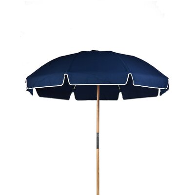 7.5 Drape Umbrella Fabric: Navy Blue Acrylic