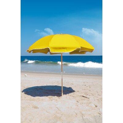 7.5 Beach Umbrella Fabric: Sunflower Yellow