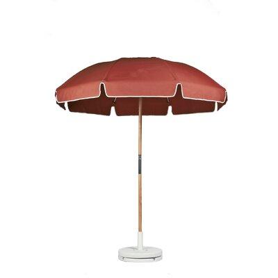 7.5 Drape Umbrella Fabric: Coral Acrylic
