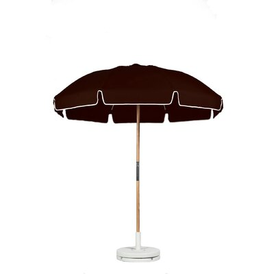 7.5 Drape Umbrella Fabric: Brown Acrylic