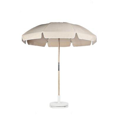 7.5 Drape Umbrella Fabric: Linen Acrylic