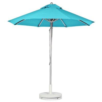 7.5 Market Umbrella Fabric: Turquoise