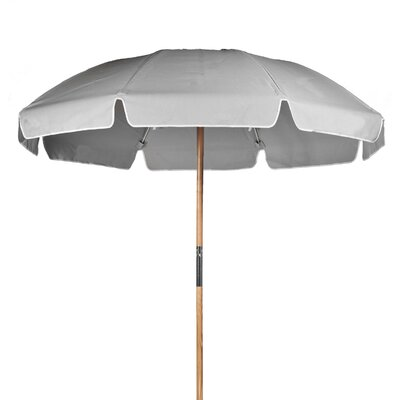 7.5 Beach Umbrella Fabric: Cadet Grey Acrylic