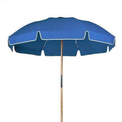 7.5 Beach Umbrella Fabric: Capri Blue Acrylic