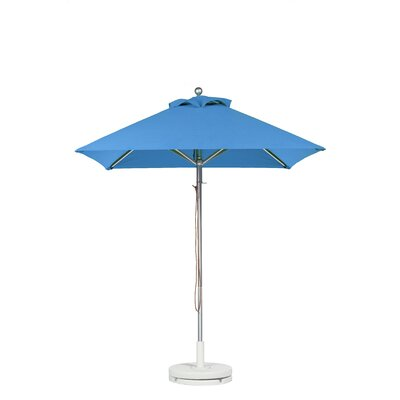 6.5 Square Market Umbrella Fabric: Capri Blue