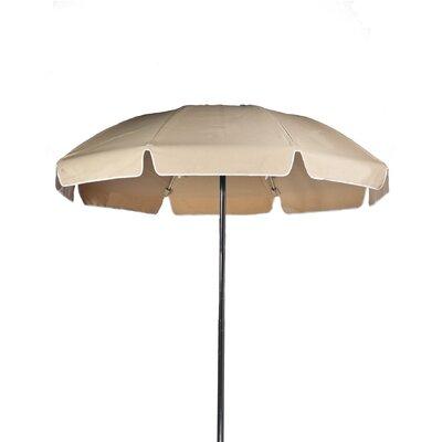 7.5 Beach Umbrella Color: Toast, Vent: Yes