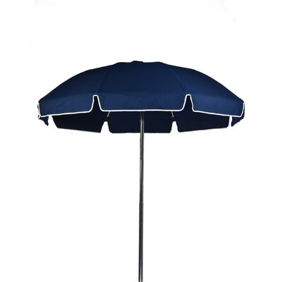 7.5 Beach Umbrella Color: Navy Blue, Vent: Yes