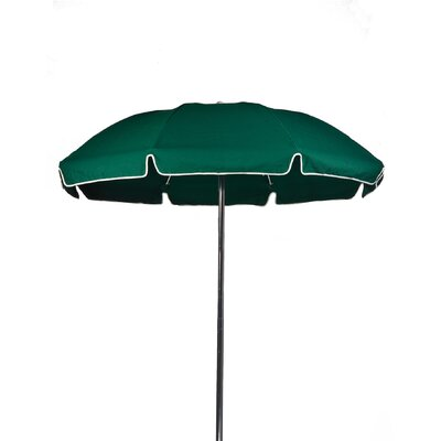 7.5 Beach Umbrella Color: Forest Green, Vent: Yes