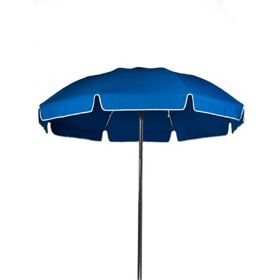 7.5 Beach Umbrella Color: Pacific Blue, Vent: Yes