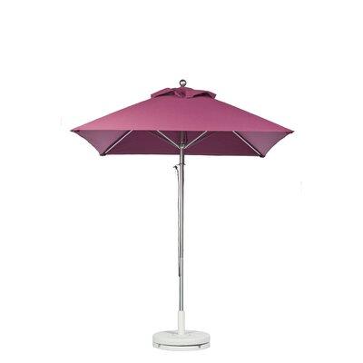 7.5 Square Market Umbrella Fabric: Coral