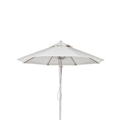11 Market Umbrella Fabric: White