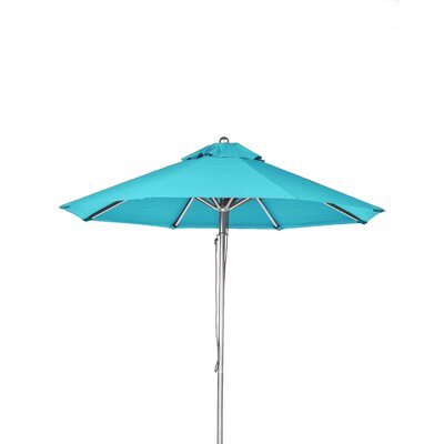 11 Market Umbrella Fabric: Turquoise